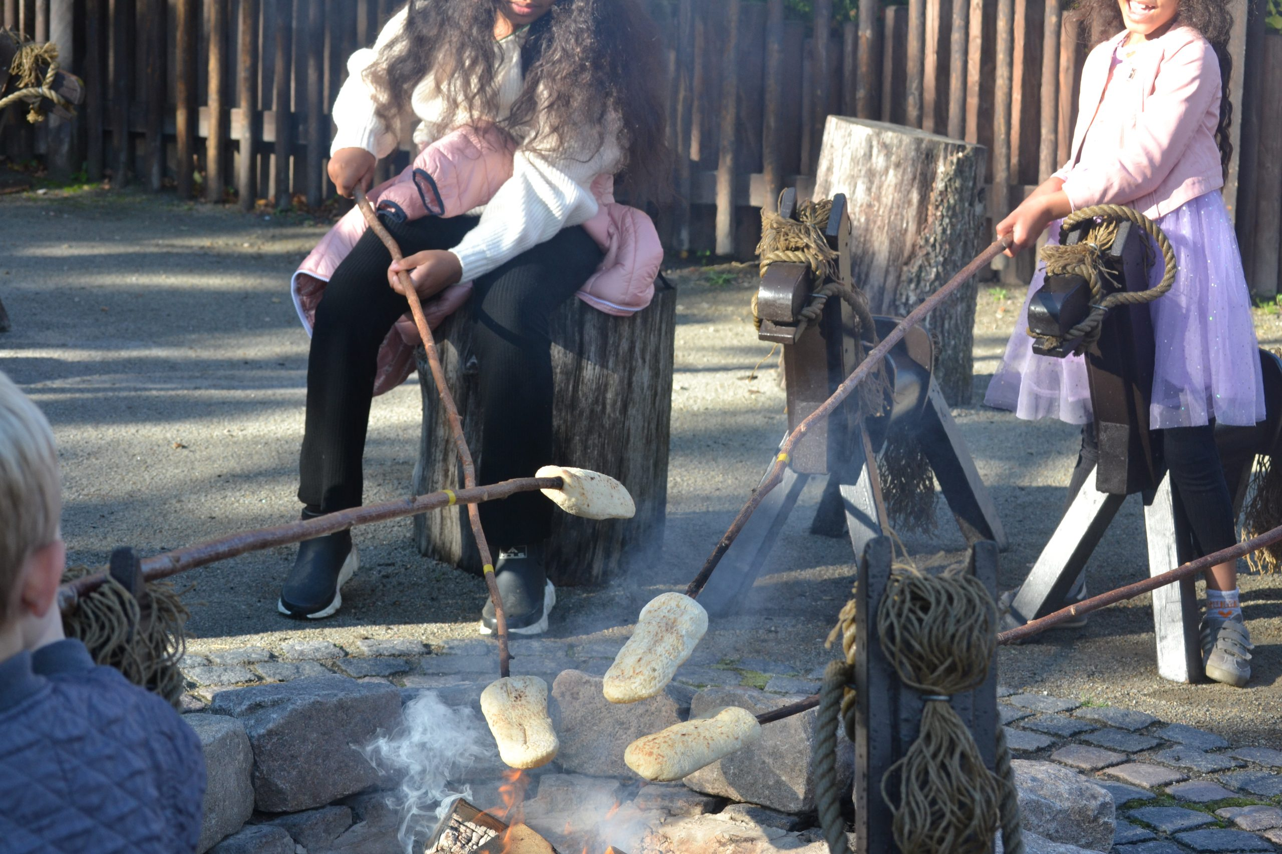 must visit spot at legoland: Indian Trading Post, where you can roast some snorbrød!